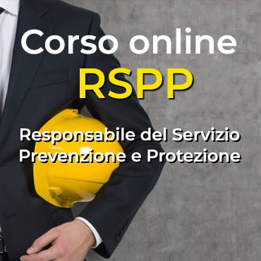 Corso RSPP online
